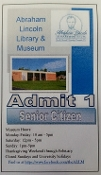Senior Citizen Admission