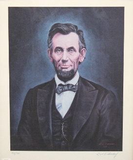 Ostendorf Print of Abraham Lincoln